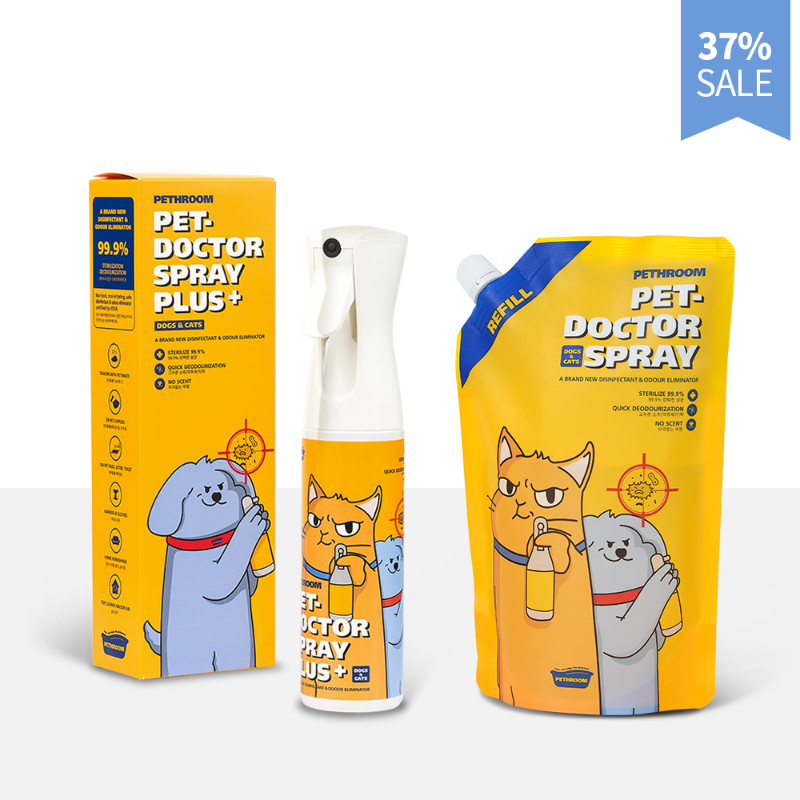 PET-DOCTOR SPRAY PLUS+ SET