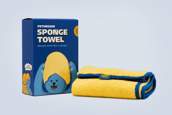 PETHROOM SPONGE TOWEL (L)