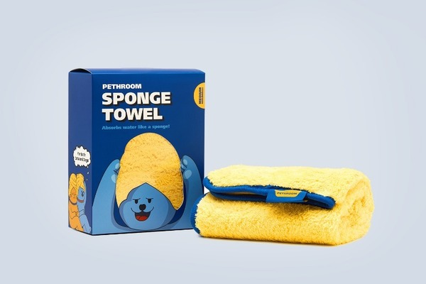 PETHROOM SPONGE TOWEL (M)