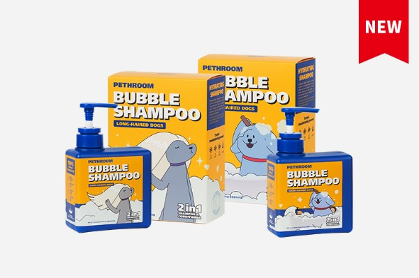 DOGS BUBBLE SHAMPOO